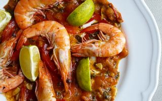 Photo: Cumin & Garlic King Prawns