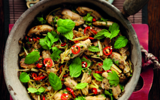 Photo: Chicken with Lemongrass, Chilli & Ginger