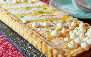 Photo: Coconut & Lime Tart