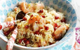 Photo: Bejewelled rice with Prawns