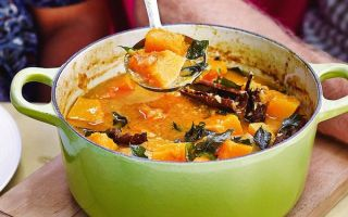 Photo: Sri Lankan Butternut Squash Curry