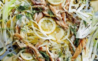 Photo: Flaked Mackerel with Lemon and Fennel