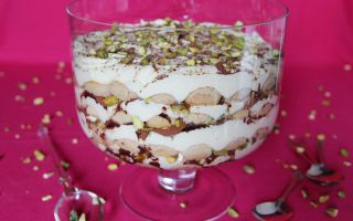 Photo: Chai Tiramisu with Vanilla & Pistachio