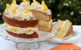 Photo: Mango Cream Cake