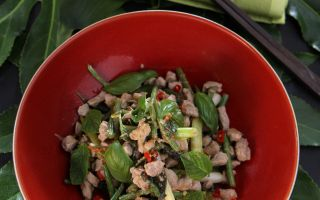 Photo: Thai pork and lime stir fry recipe