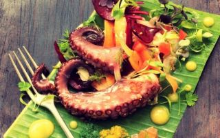 Photo: Mauritian Octopus Salad
