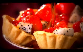 Photo: Exotic Fruit Tartlets with Cardamon Creme Pattiserie