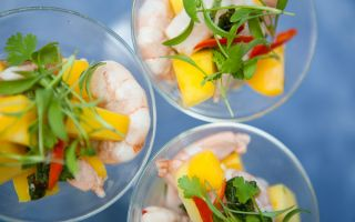 Photo: Prawn and Mango Ceviche