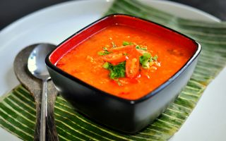 Photo: Mauritian Red Lentil Soup